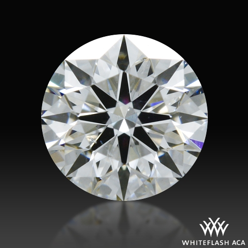 0.33 ct G SI1 A CUT ABOVE® Hearts and Arrows Super Ideal Round Cut Loose Diamond