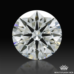 0.33 ct H SI1 A CUT ABOVE® Hearts and Arrows Super Ideal Round Cut Loose Diamond
