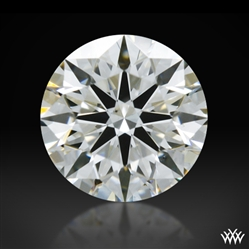 0.348 ct H VS2 A CUT ABOVE® Hearts and Arrows Super Ideal Round Cut Loose Diamond