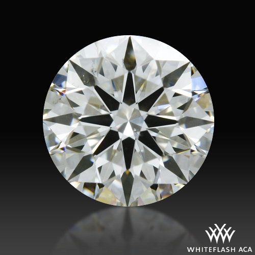 0.328 ct I VS2 A CUT ABOVE® Hearts and Arrows Super Ideal Round Cut Loose Diamond