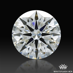 0.316 ct F VS2 A CUT ABOVE® Hearts and Arrows Super Ideal Round Cut Loose Diamond