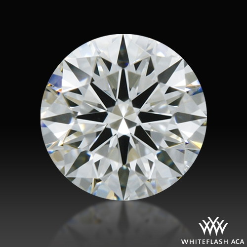 0.344 ct G VS2 A CUT ABOVE® Hearts and Arrows Super Ideal Round Cut Loose Diamond