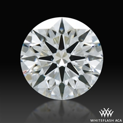 0.297 ct F VS2 A CUT ABOVE® Hearts and Arrows Super Ideal Round Cut Loose Diamond