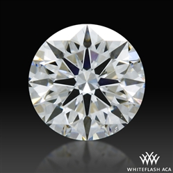 0.313 ct F SI1 A CUT ABOVE® Hearts and Arrows Super Ideal Round Cut Loose Diamond