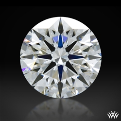 0.323 ct F SI1 A CUT ABOVE® Hearts and Arrows Super Ideal Round Cut Loose Diamond