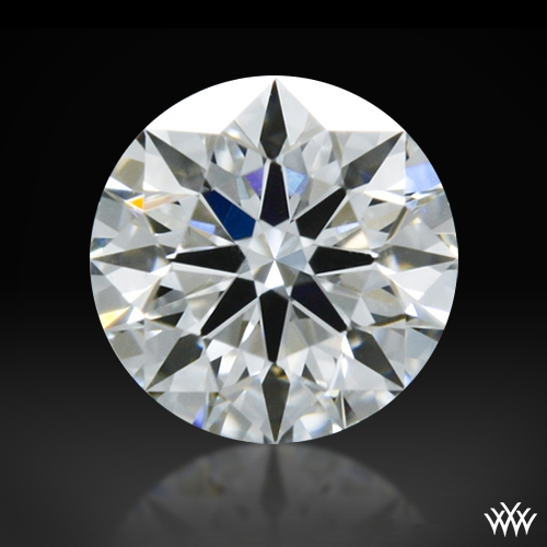 0.305 ct F SI1 A CUT ABOVE® Hearts and Arrows Super Ideal Round Cut Loose Diamond