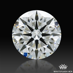 0.311 ct F VS2 A CUT ABOVE® Hearts and Arrows Super Ideal Round Cut Loose Diamond