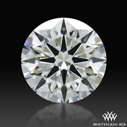 0.307 ct G VS2 A CUT ABOVE® Hearts and Arrows Super Ideal Round Cut Loose Diamond