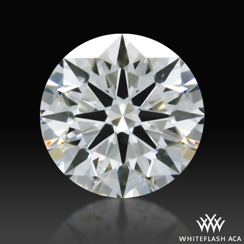 0.298 ct F VS1 A CUT ABOVE® Hearts and Arrows Super Ideal Round Cut Loose Diamond