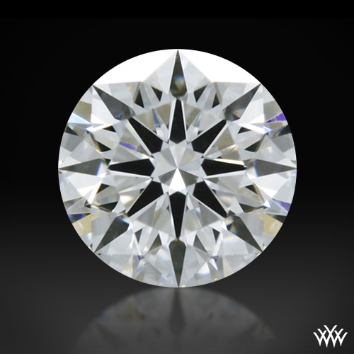0.366 ct D VVS2 A CUT ABOVE® Hearts and Arrows Super Ideal Round Cut Loose Diamond