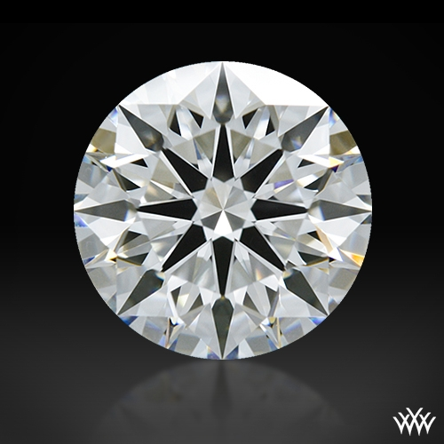 1.134 ct F VVS2 A CUT ABOVE® Hearts and Arrows Super Ideal Round Cut Loose Diamond