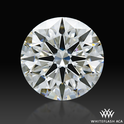 1.011 ct F SI1 A CUT ABOVE® Hearts and Arrows Super Ideal Round Cut Loose Diamond