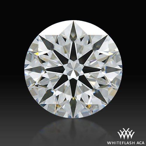 1.18 ct F VS2 A CUT ABOVE® Hearts and Arrows Super Ideal Round Cut Loose Diamond