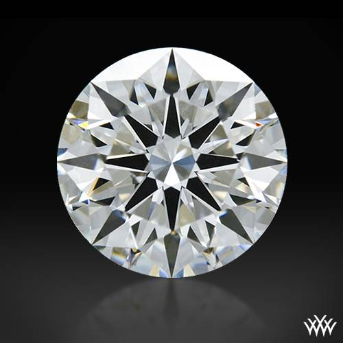 1.01 ct F VS2 A CUT ABOVE® Hearts and Arrows Super Ideal Round Cut Loose Diamond