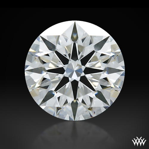 1.003 ct F IF A CUT ABOVE® Hearts and Arrows Super Ideal Round Cut Loose Diamond