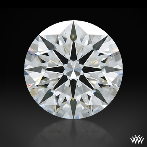 1.223 ct F VVS1 A CUT ABOVE® Hearts and Arrows Super Ideal Round Cut Loose Diamond