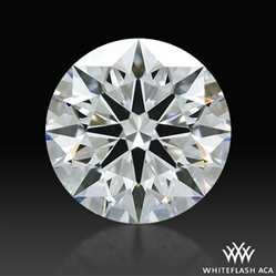 0.703 ct E IF A CUT ABOVE® Hearts and Arrows Super Ideal Round Cut Loose Diamond