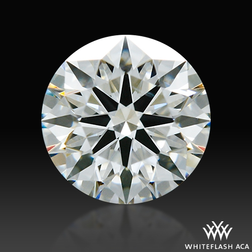 0.553 ct I VS2 A CUT ABOVE® Hearts and Arrows Super Ideal Round Cut Loose Diamond