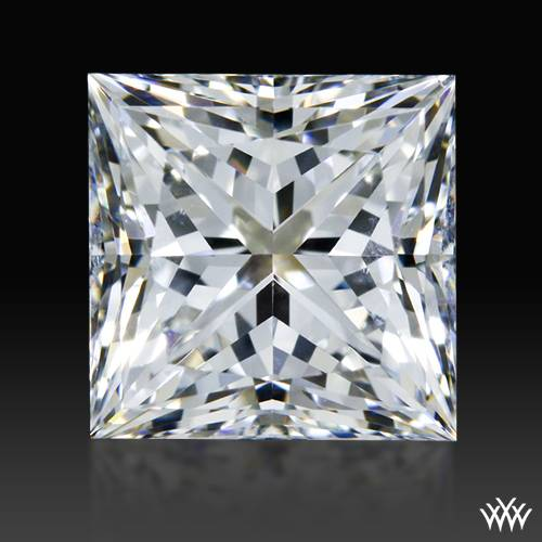 1.025 ct H SI1 A CUT ABOVE® Princess Super Ideal Cut Diamond