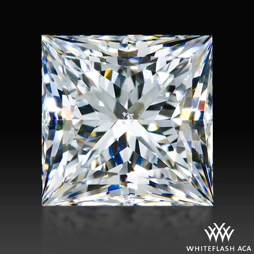 0.686 ct F SI1 A CUT ABOVE® Princess Super Ideal Cut Diamond