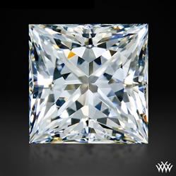 0.603 ct G VVS2 A CUT ABOVE® Princess Super Ideal Cut Diamond