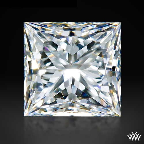 0.502 ct G IF A CUT ABOVE® Princess Super Ideal Cut Diamond