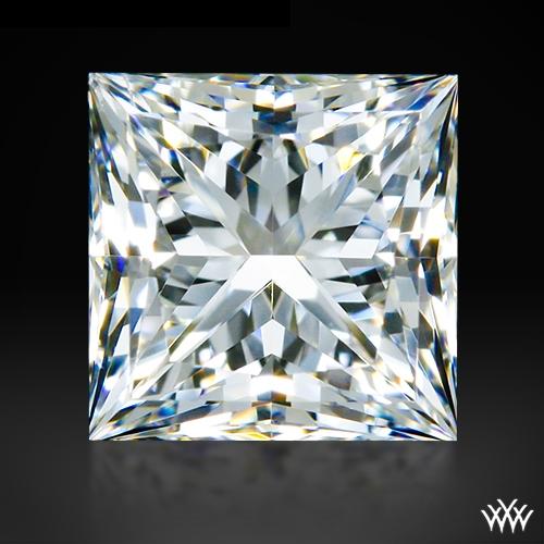 0.697 ct G SI1 A CUT ABOVE® Princess Super Ideal Cut Diamond