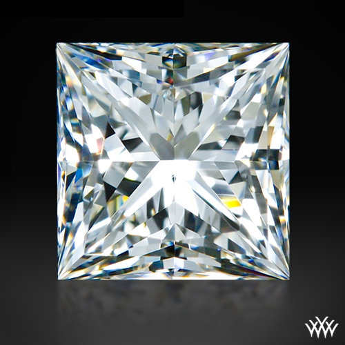 0.496 ct H VS1 A CUT ABOVE® Princess Super Ideal Cut Diamond