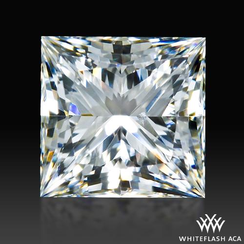 0.497 ct G SI1 A CUT ABOVE® Princess Super Ideal Cut Diamond