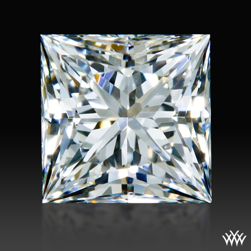 0.508 ct F VS2 A CUT ABOVE® Princess Super Ideal Cut Diamond