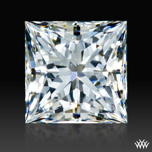 0.534 ct F VVS2 A CUT ABOVE® Princess Super Ideal Cut Diamond
