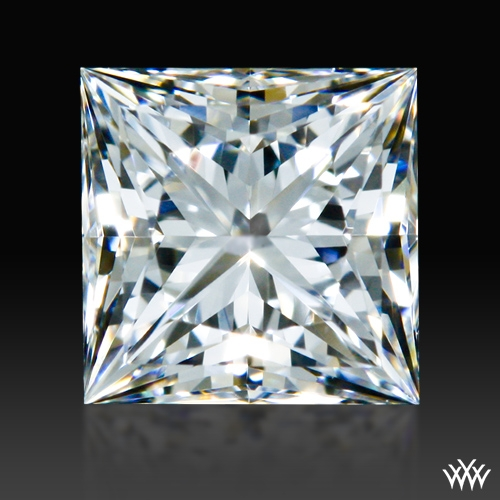 0.502 ct F VS2 A CUT ABOVE® Princess Super Ideal Cut Diamond