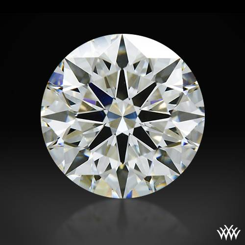 1.121 ct H VS1 A CUT ABOVE® Hearts and Arrows Super Ideal Round Cut Loose Diamond