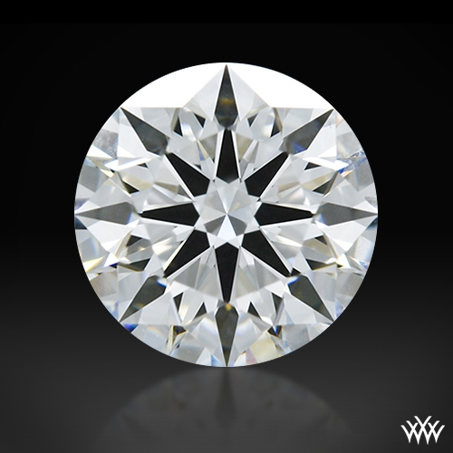1.07 ct E VS1 A CUT ABOVE® Hearts and Arrows Super Ideal Round Cut Loose Diamond