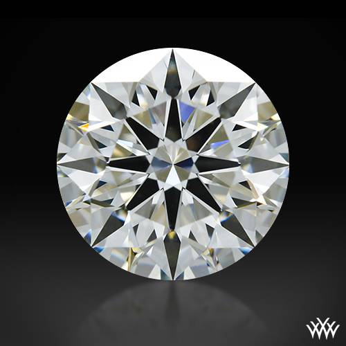 1.538 ct I VS1 A CUT ABOVE® Hearts and Arrows Super Ideal Round Cut Loose Diamond