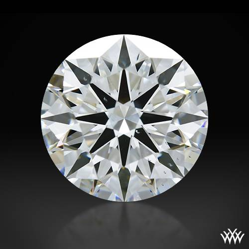 1.57 ct F VS2 A CUT ABOVE® Hearts and Arrows Super Ideal Round Cut Loose Diamond