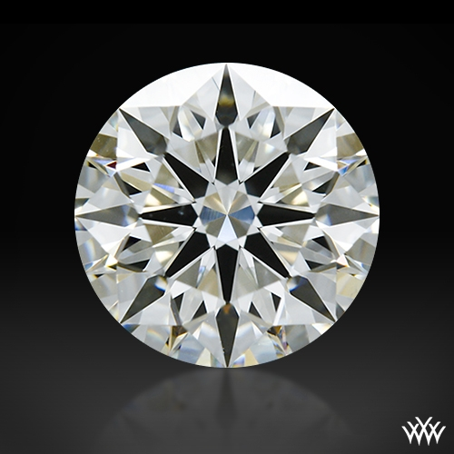 1.248 ct J VS2 A CUT ABOVE® Hearts and Arrows Super Ideal Round Cut Loose Diamond