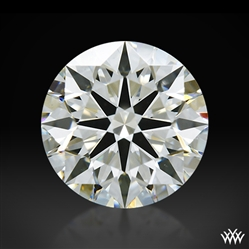 1.014 ct J VS1 A CUT ABOVE® Hearts and Arrows Super Ideal Round Cut Loose Diamond