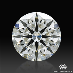 1.003 ct I SI1 A CUT ABOVE® Hearts and Arrows Super Ideal Round Cut Loose Diamond