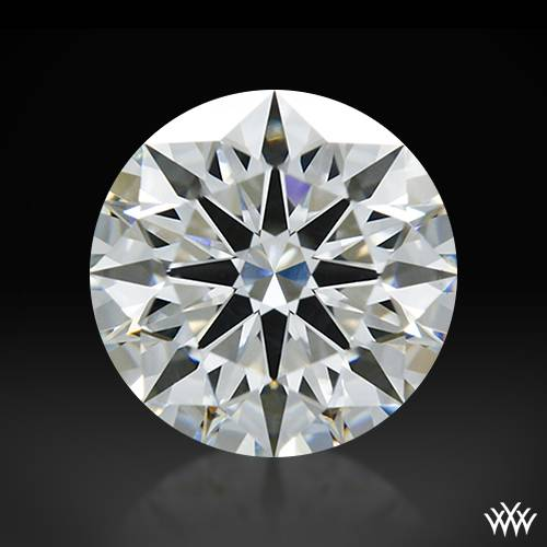 1.011 ct G SI1 A CUT ABOVE® Hearts and Arrows Super Ideal Round Cut Loose Diamond