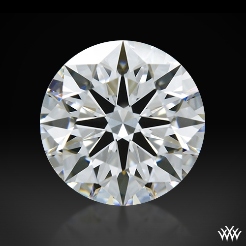 1.042 ct F VS2 A CUT ABOVE® Hearts and Arrows Super Ideal Round Cut Loose Diamond