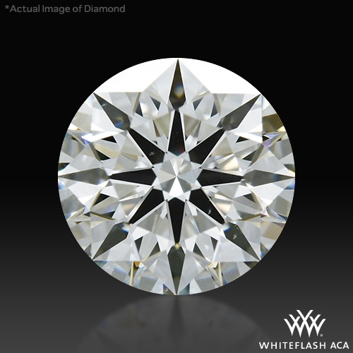 0.825 ct I VS2 A CUT ABOVE® Hearts and Arrows Super Ideal Round Cut Loose Diamond