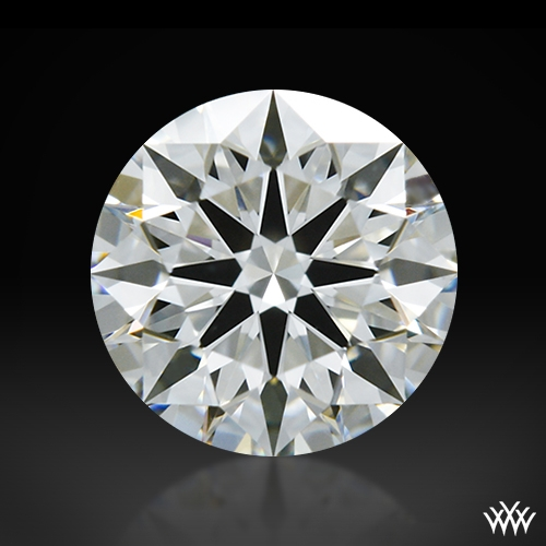 0.707 ct I VS1 A CUT ABOVE® Hearts and Arrows Super Ideal Round Cut Loose Diamond