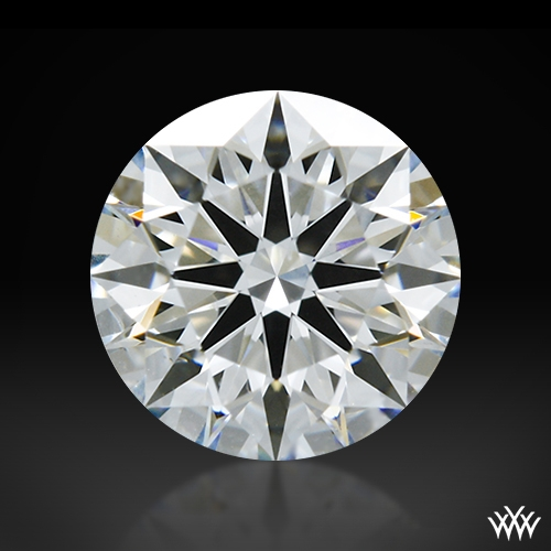 0.718 ct G VS1 A CUT ABOVE® Hearts and Arrows Super Ideal Round Cut Loose Diamond