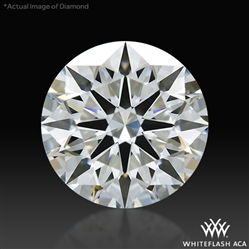 0.828 ct H VS2 A CUT ABOVE® Hearts and Arrows Super Ideal Round Cut Loose Diamond