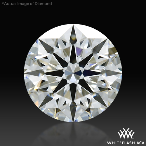 0.635 ct H VS1 A CUT ABOVE® Hearts and Arrows Super Ideal Round Cut Loose Diamond