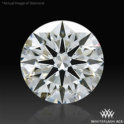 0.576 ct G VS2 A CUT ABOVE® Hearts and Arrows Super Ideal Round Cut Loose Diamond