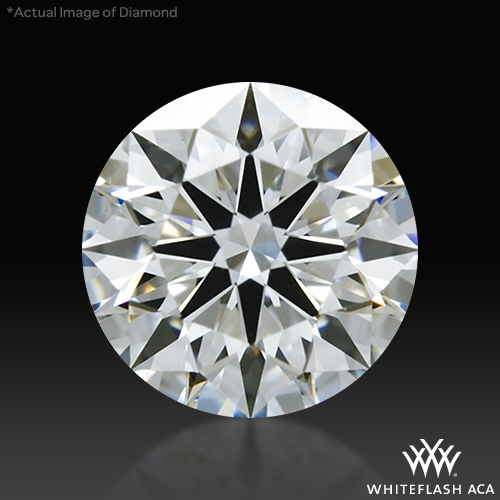0.612 ct G VS2 A CUT ABOVE® Hearts and Arrows Super Ideal Round Cut Loose Diamond