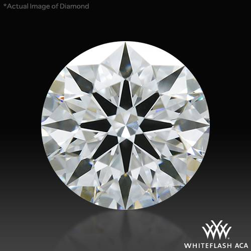 0.638 ct E VS2 A CUT ABOVE® Hearts and Arrows Super Ideal Round Cut Loose Diamond