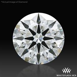0.638 ct E VS2 A CUT ABOVE® Hearts and Arrows Super Ideal Round Cut Loose Diamond